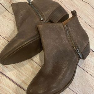 Lucky brand Basel booties size 12